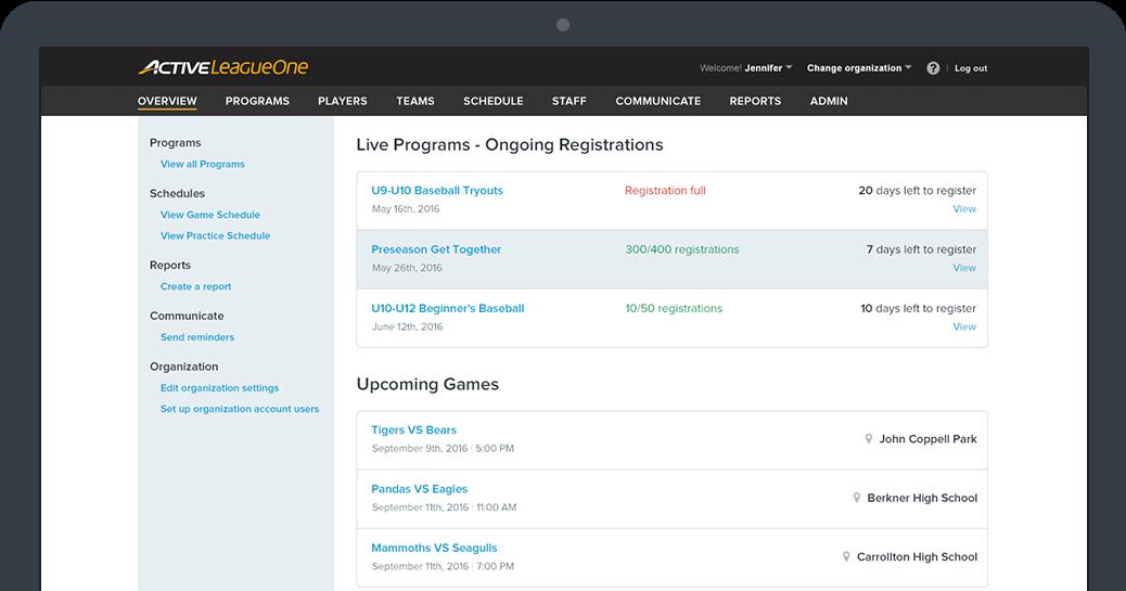 Online Sports Registration Software – Online Registration